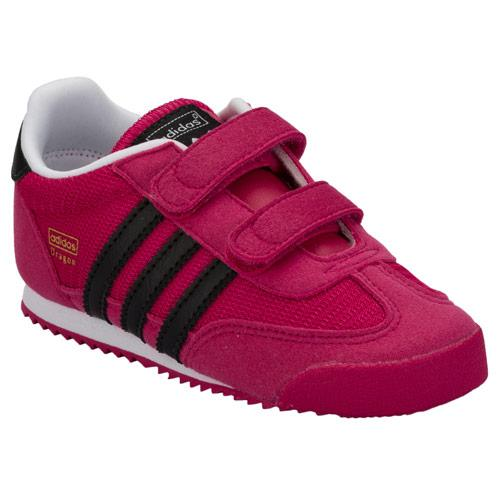 Adidas Originals Infant Girls Dragon Trainers Pink