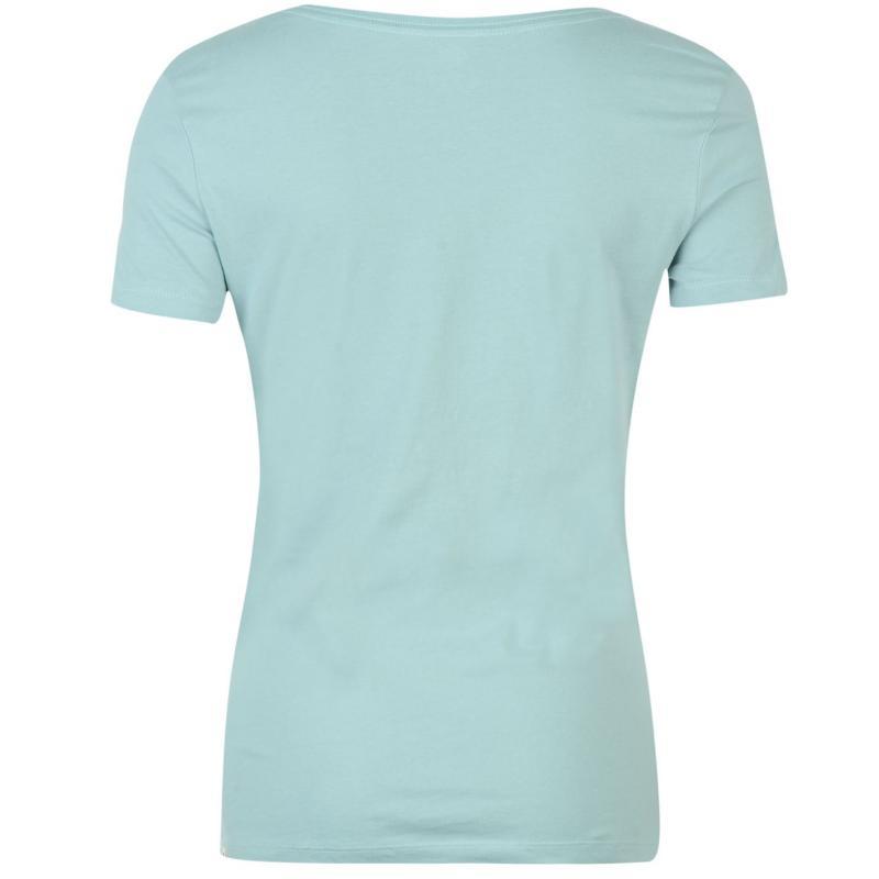 Roxy Nomad Circle Short Sleeved T Shirt Ladies Blue