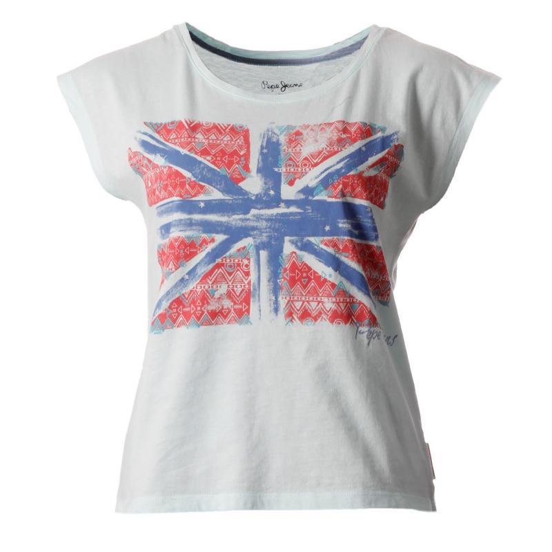 Pepe Jeans Miranda T Shirt Ld52 White