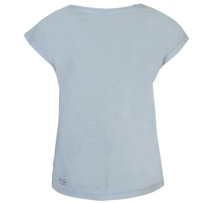 Pepe Jeans Saker T Shirt Blue