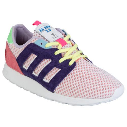 Boty Adidas Originals Womens ZX 500 2.0 Trainers Pink