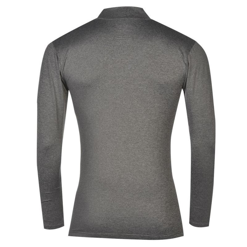Dunlop Pro Mock Shirt Mens White