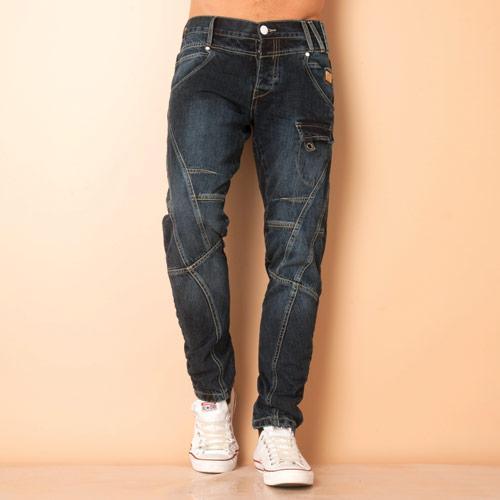 J2 Mens Radar Dark Blue Jeans Denim