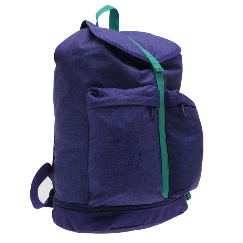 USA Pro Gym Duffle Bag Purple/Aqua