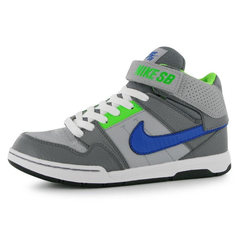 Nike Mogan Mid 2 Junior Grey/Royal