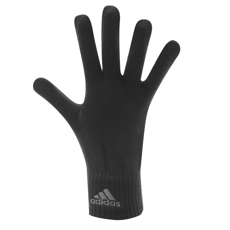 adidas Knit Mens Gloves Black