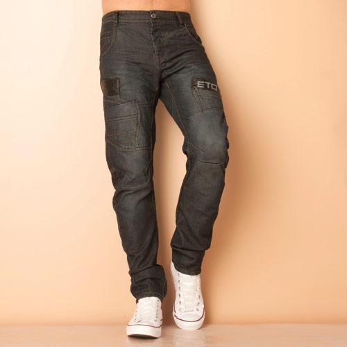Eto Mens EM505 Jeans Denim