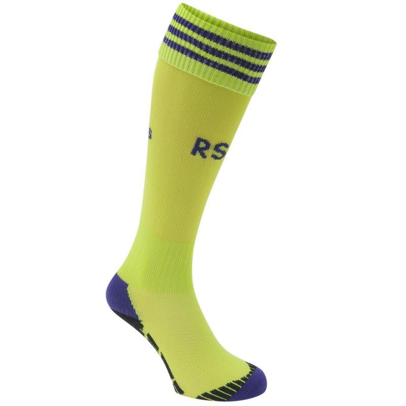 Tričko adidas RSC Anderlecht Away Socks 2015 2016 Slime/Purple