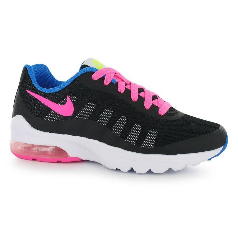 Nike AirMax Invigor Girls Trainers Black/Pink, Velikost: UK5 (euro 38)
