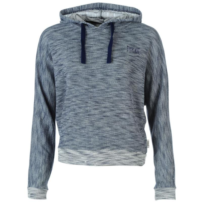 Mikina s kapucí Everlast Terry Over The Head Hoody Ladies Indigo Marl