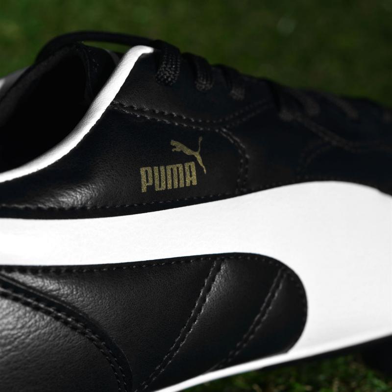 Puma Classico SG Mens Football Boots Black/White