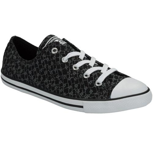 Boty Converse Womens CT All Star Dainty Ox Trainers Black