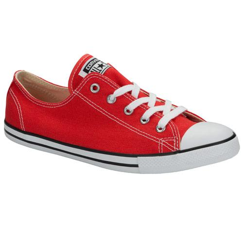 Boty Converse Womens CT All Star Dainty Ox Trainers Red
