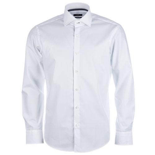 Košile Hugo Boss Mens Gregory Shirt White