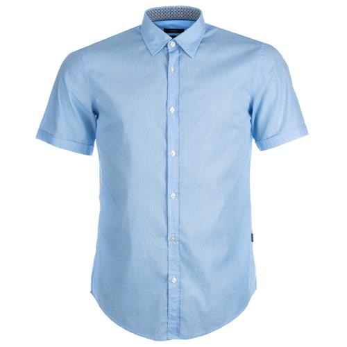Košile Hugo Boss Mens Marco Shirt sky