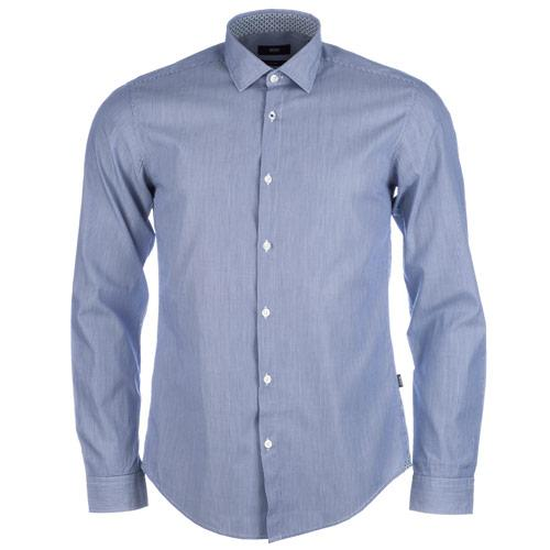 Košile Hugo Boss Mens Nemos 2 Shirt Dark Blue
