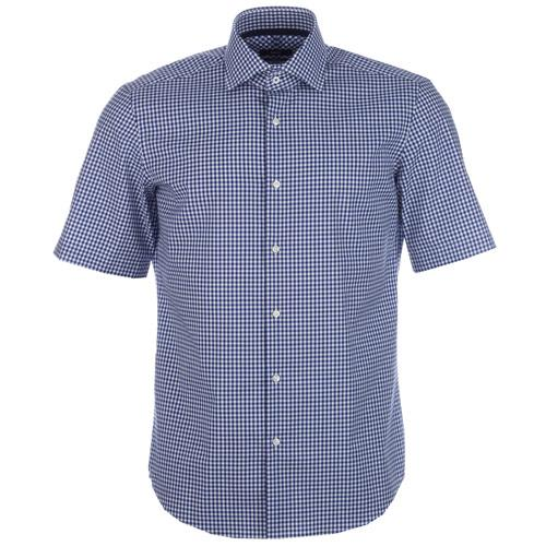 Košile Hugo Boss Mens Greg Shirt Denim
