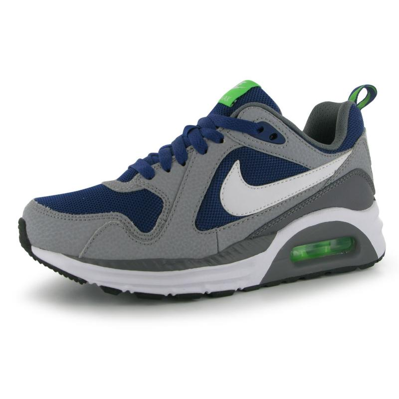 Boty Nike AirMax Trax Junior Trainers Royal/Wht/Grey, Velikost: UK4 (euro 37)