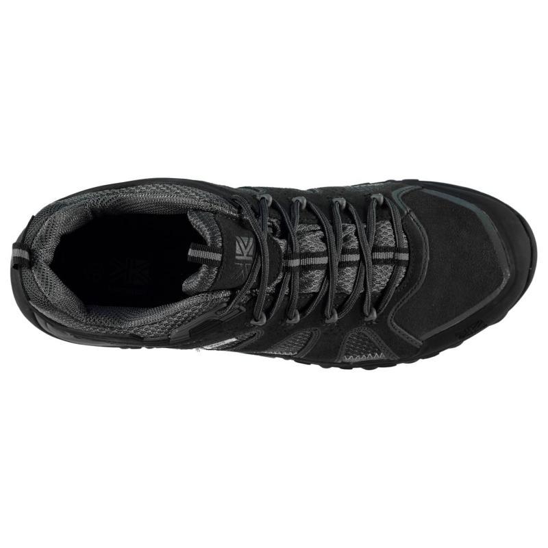 Boty Karrimor Ridge Mens Walking Shoes Brown
