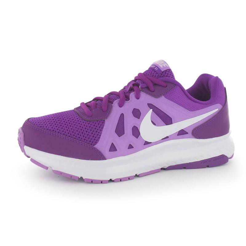 Boty Nike Dart 11 Ladies Trainers Purple/Wht/Fuch, Velikost: UK4 (euro 37)