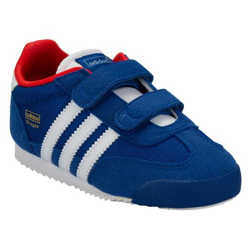 infant adidas dragon trainers white
