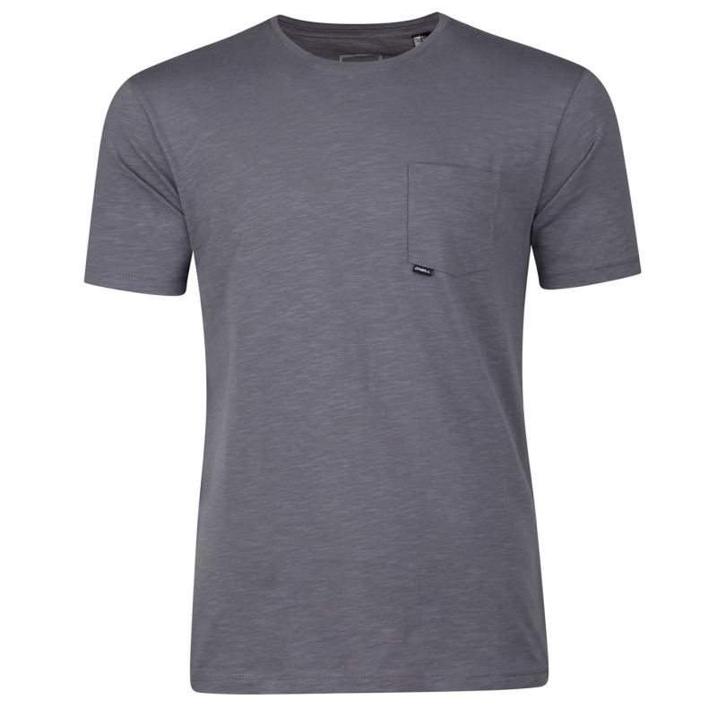 Tričko ONeill Jacks Base T Shirt Mens Charcoal