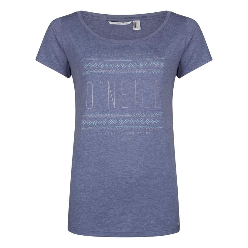 ONeill Reflection T Shirt Ladies Crown Blue