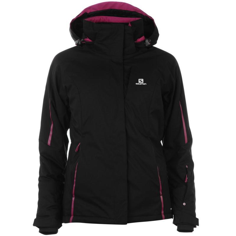 Bunda Salomon Rise Jacket Ladies Black, Velikost: 8 (XS)