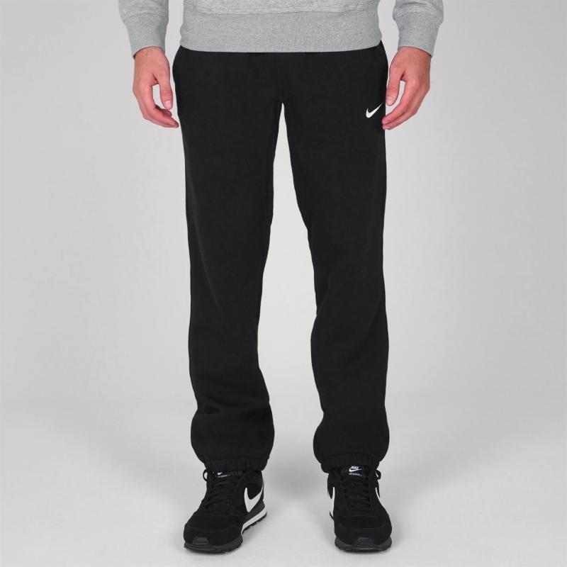 Tepláky Nike Fleece Cuff Sweatpants Mens Charcoal, Velikost: M