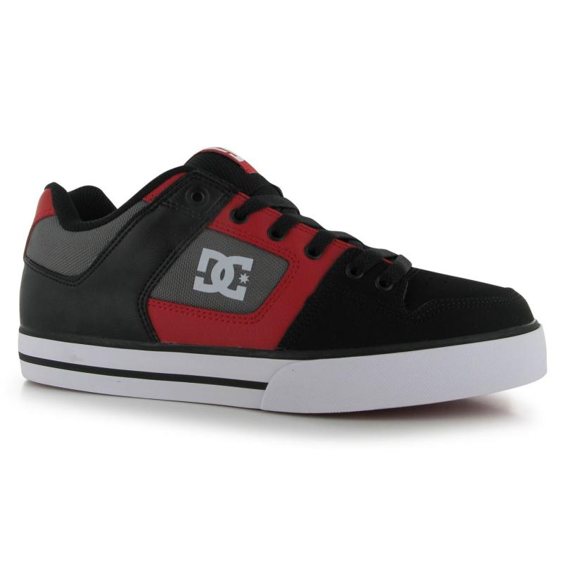 Boty DC DC Pure Skate Shoes Mens Black/Red