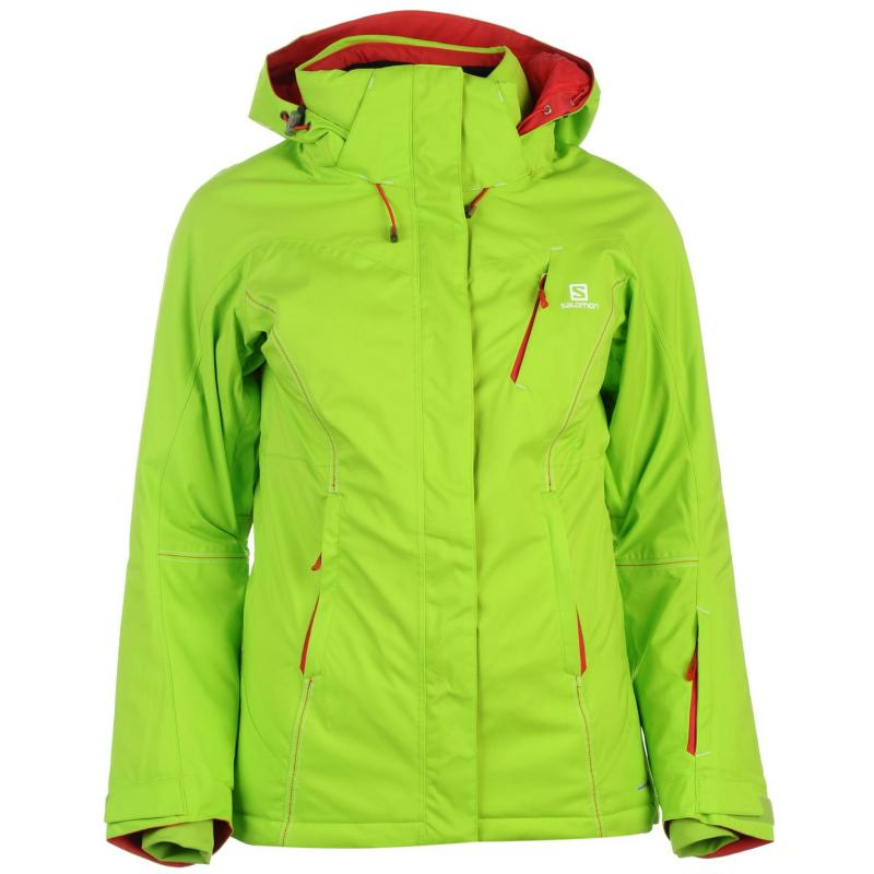Bunda Salomon Enduro Jacket Ladies Blue, Velikost: 10 (S)