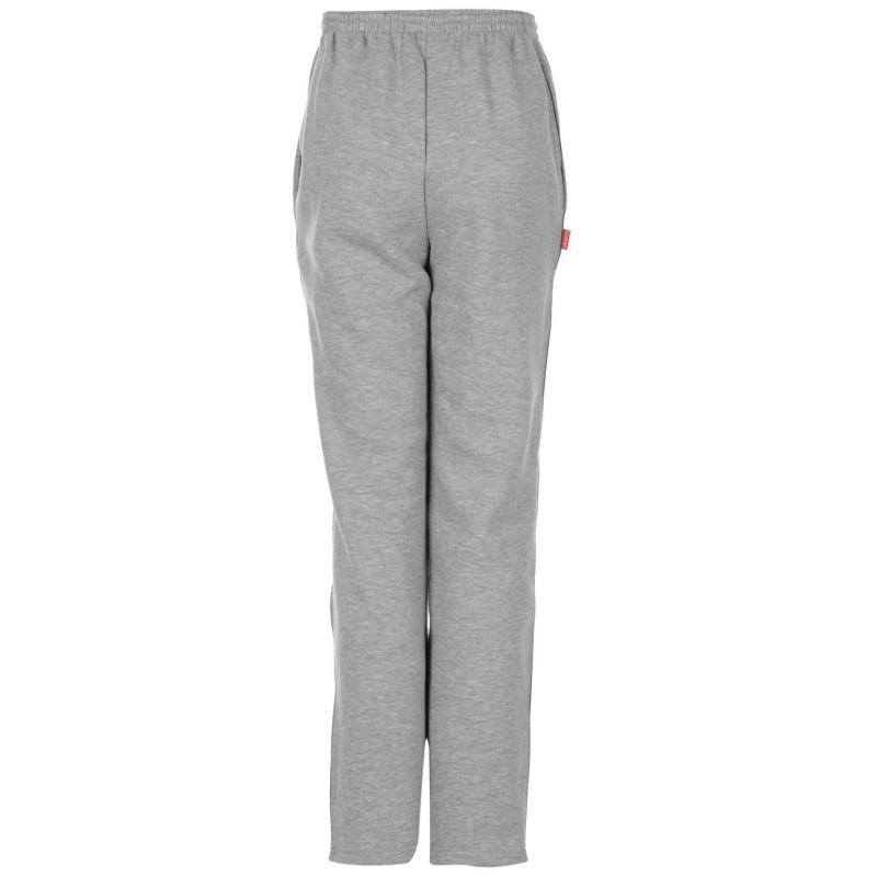 Tepláky Slazenger Fleece Jogging Bottoms Junior Grey Marl