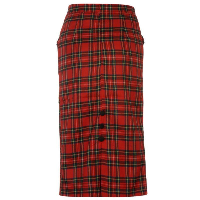 Šaty Banned Pencil Skirt Tartan