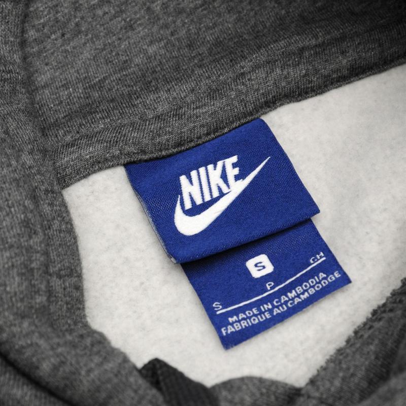 Mikina Nike Fundamentals Fleece Hoody Mens Charcoal, Velikost: S