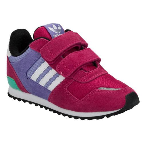 Adidas Originals Infant Girls ZX700 Trainers Pink