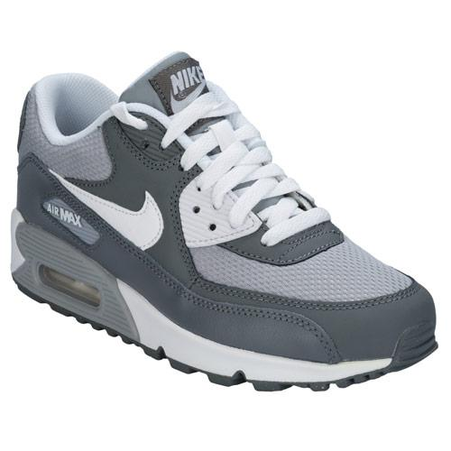 Boty Nike Junior Boy Air Max 90 Trainers Grey