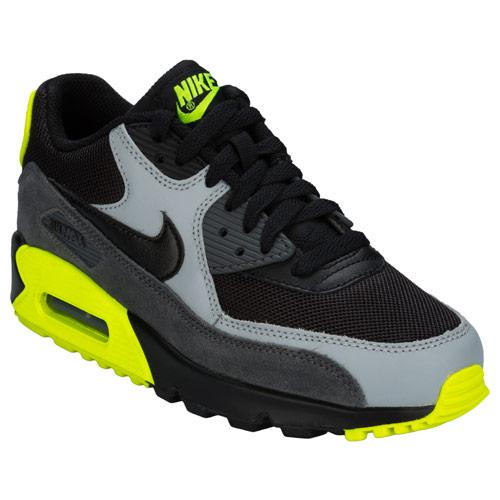 Boty Nike Junior Boy Air Max 90 Trainers Black