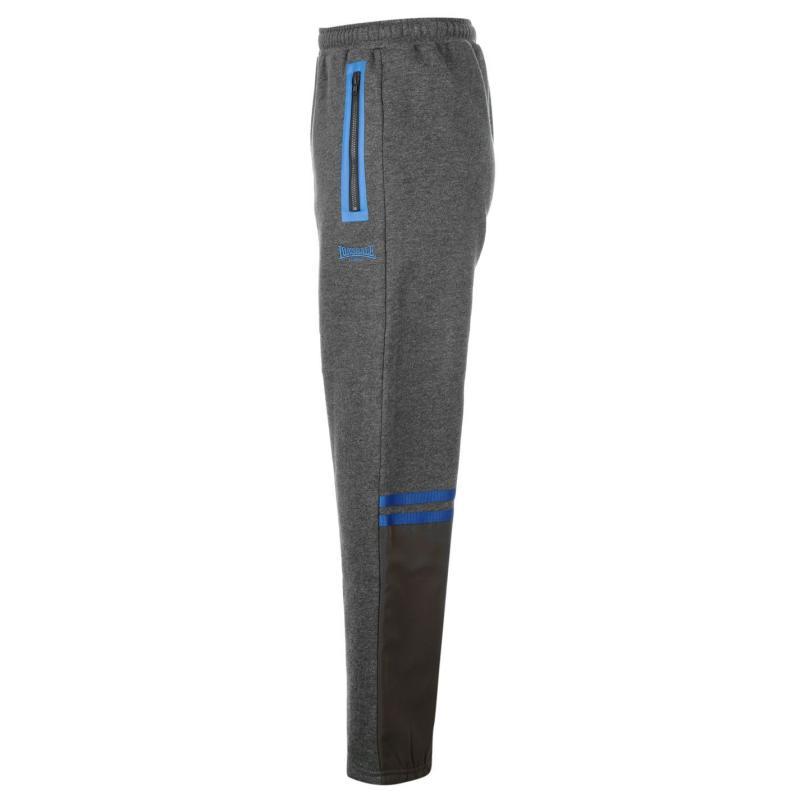 Tepláky Lonsdale HSprt OH JogJn61 Charcoal/Blue