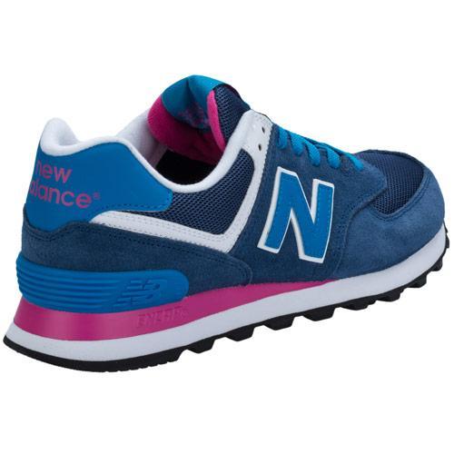 Boty New Balance Womens 574 Core Trainers Blue, Velikost: UK8 (euro 42)