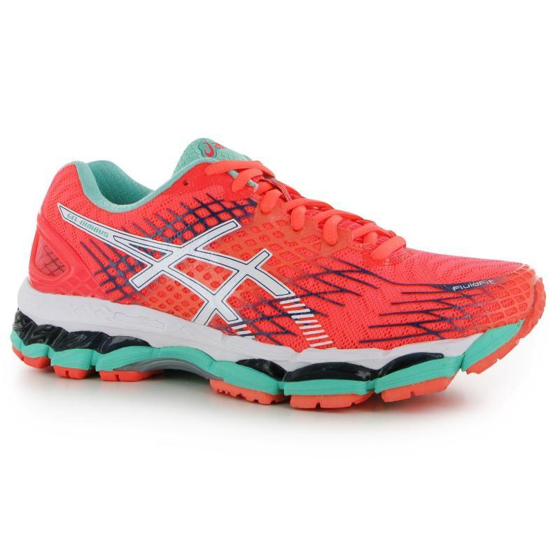 Boty Asics Gel Nimbus 17 Ladies Running Shoes Blue/Pink