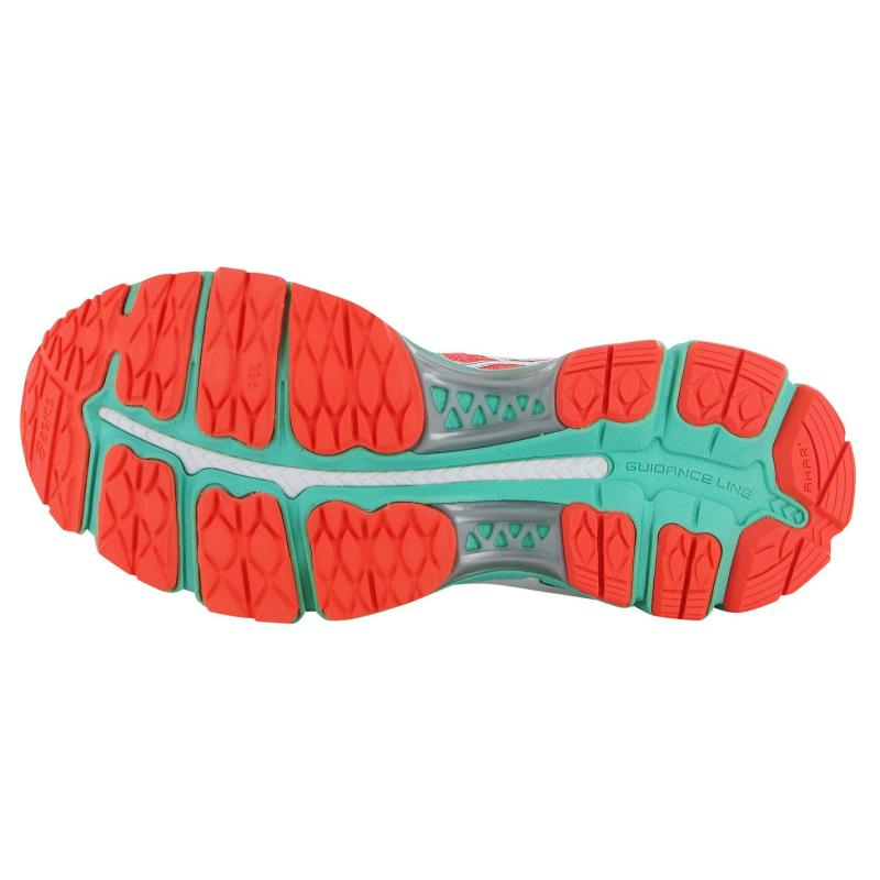 Boty Asics Gel Nimbus 17 Ladies Running Shoes Coral/Blue