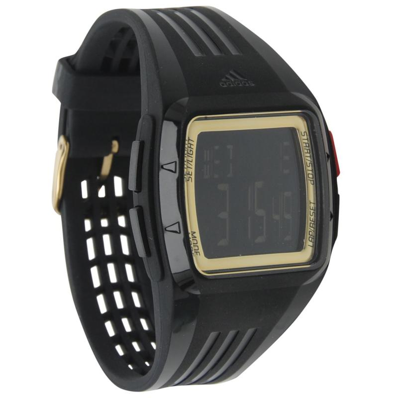 adidas Mens Duramo Chronograph Watch Grey/Black