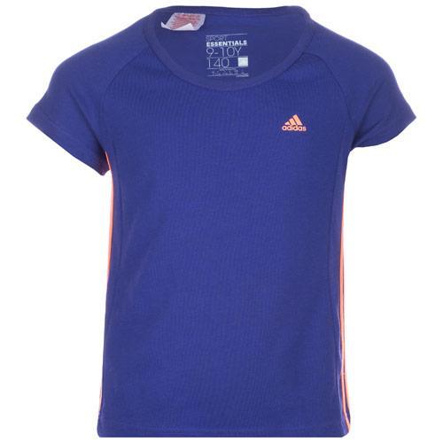 Adidas Junior Girls Essential T-Shirt Lilac