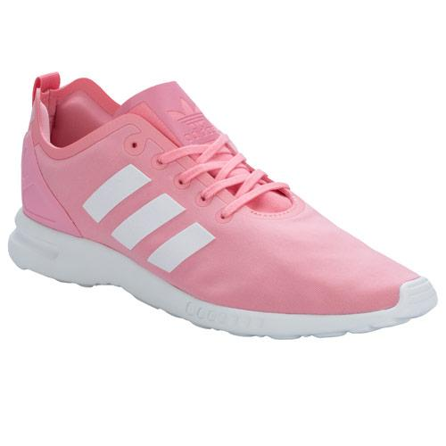 Boty Adidas Originals Womens ZX Flux Smooth Trainers Coral