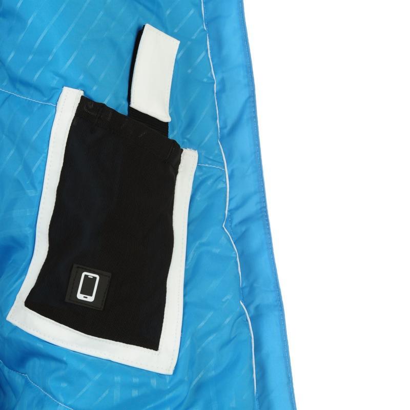 Bunda Salomon Iceglory Jacket Ladies White, Velikost: 12 (M)