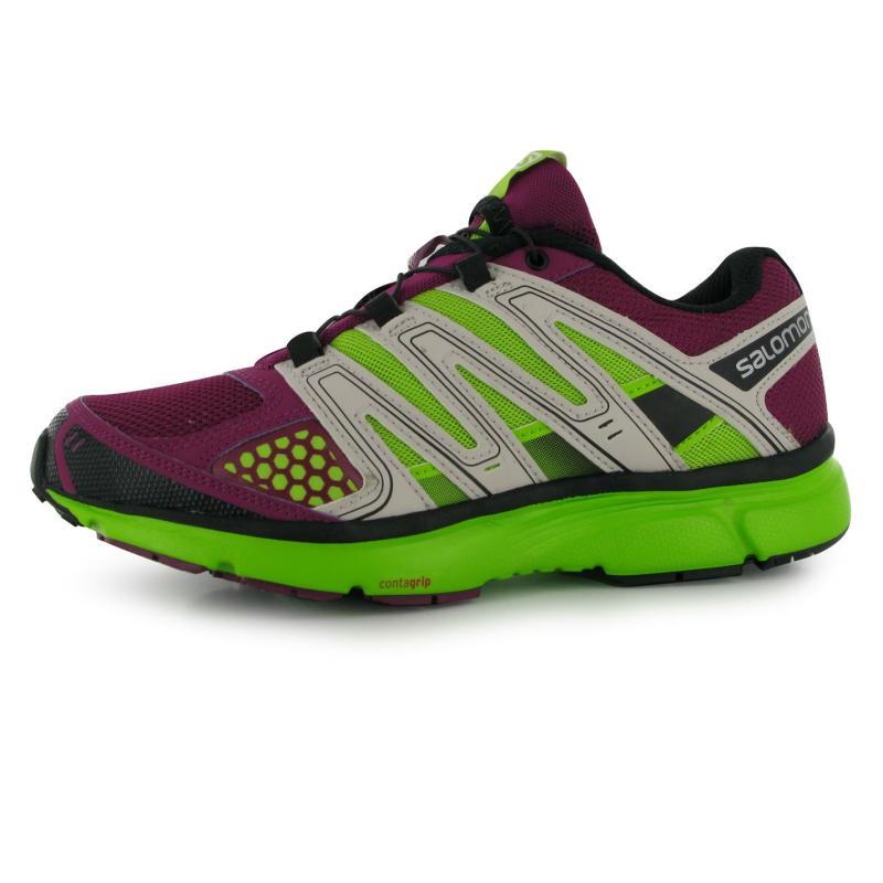Boty Salomon X Mission 2 Ladies Trail Running Shoes Purple