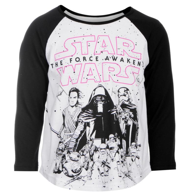 Star Wars Star Wars T Shirt Junior Girls Force Awakens