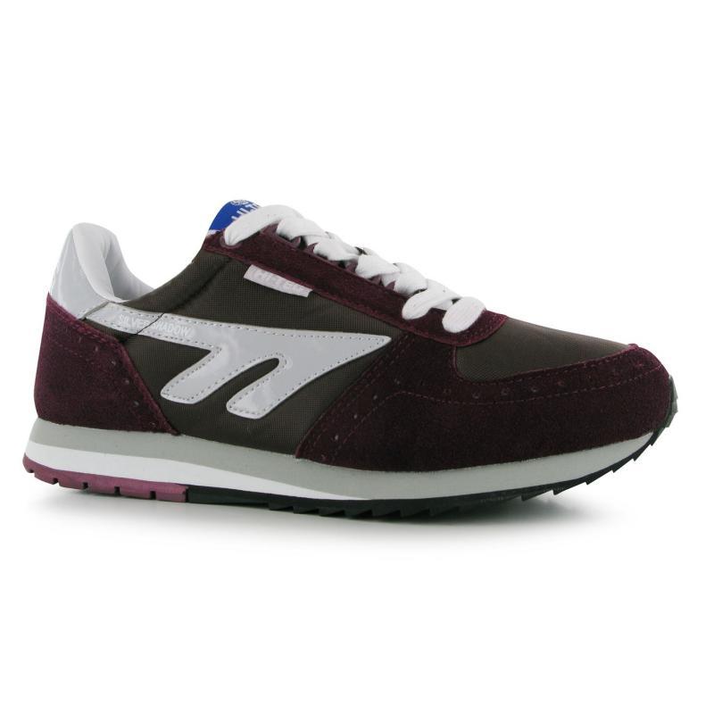 Boty Hi Tec Tec Shadow Shoe Mens Burgundy/White