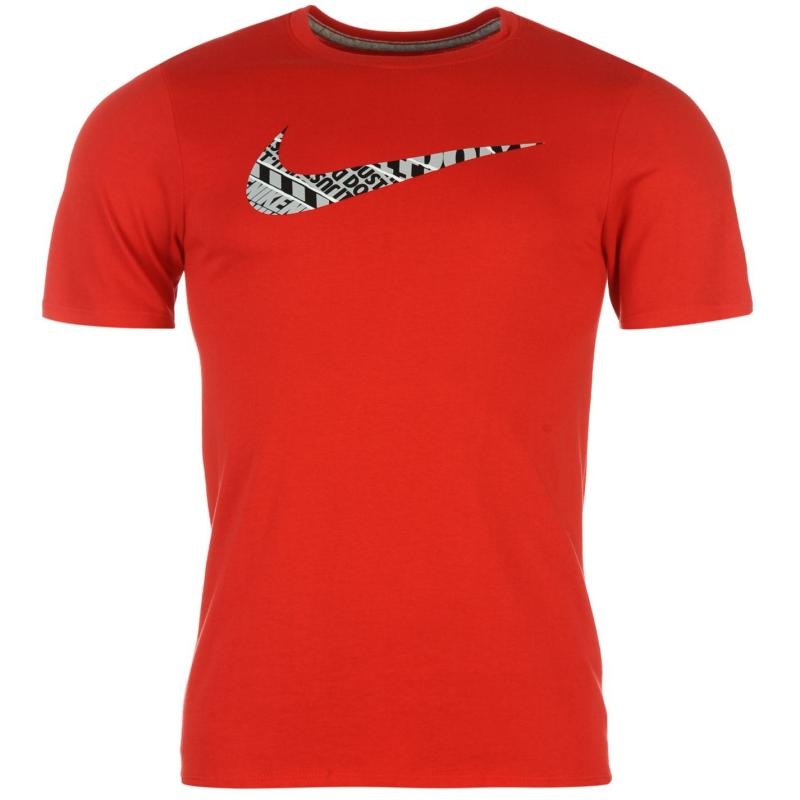 Tričko Nike Swoosh QTT T Shirt Mens Green