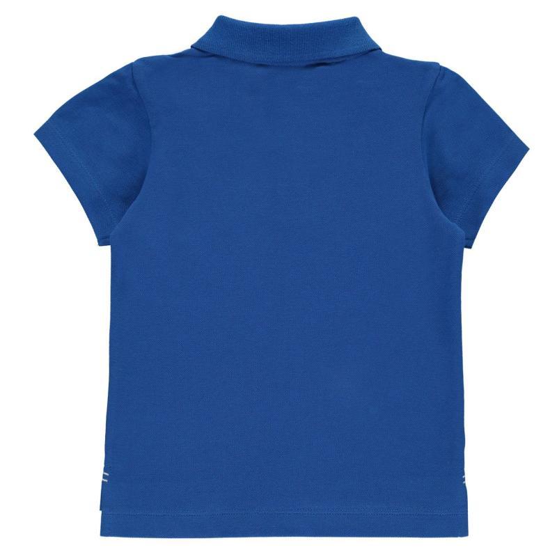 Slazenger Plain Polo Shirt Infant Boys Green